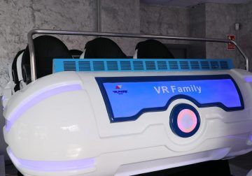 Realidad virtual y 3D para divertirse en familia en Málaga