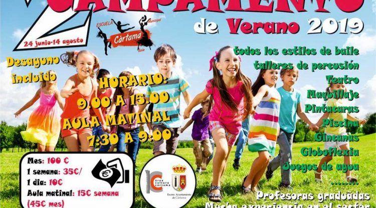 Campamento de Verano para los peques con la Escuela de Baile de Cártama