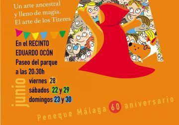 Festival de títeres gratis en Málaga