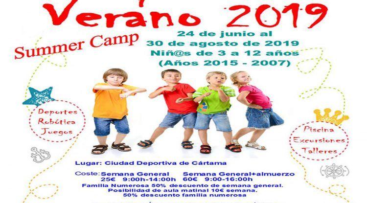 Róbotica, Deportes, juegos y muchas actividades en el Summer Camp 2019 en Ciudad Deportiva de Cártama