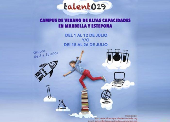 Campamento de verano bilingüe para niños de altas capacidades en Estepona y Marbella