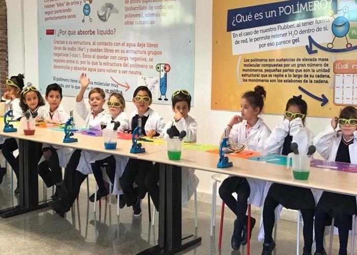 Campus de ciencia para niños en Málaga