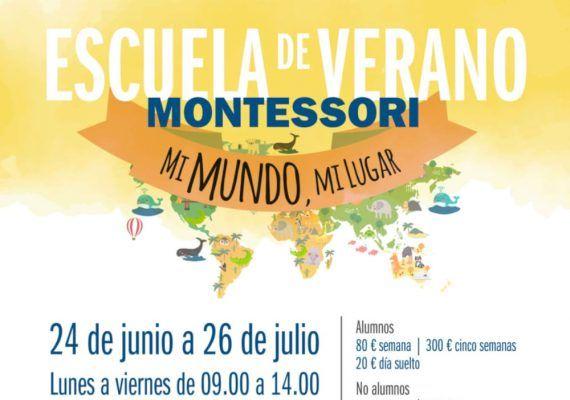Escuela de verano para niños en el centro Montessori de Málaga