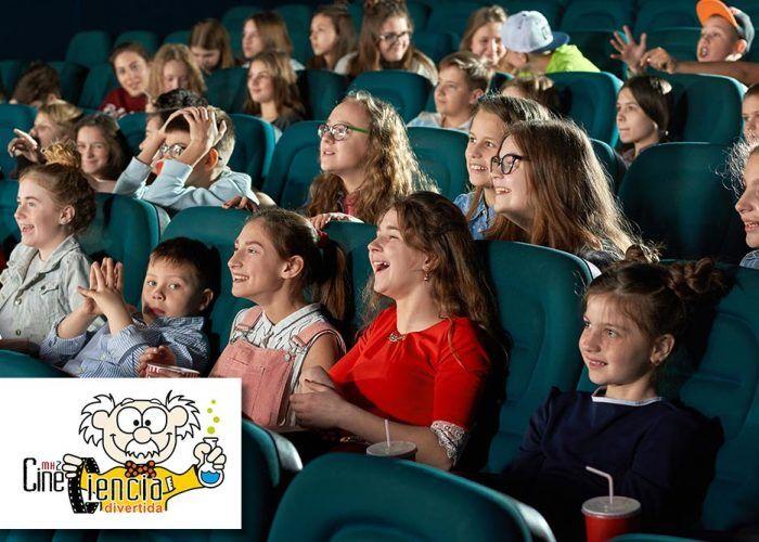 Cine de Ciencia Divertida en Málaga