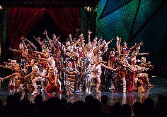 Espectáculo 'Kooza' Cirque du Soleil