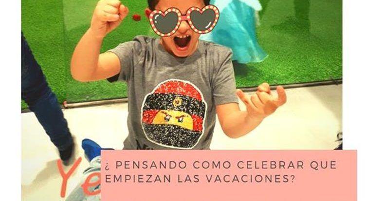 Fiesta fin de curso Club Happy Málaga en El Corte Inglés