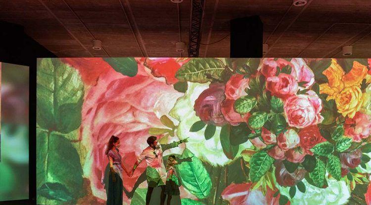 Impresionistas, la exposición inmersiva para visitar en familia este verano en Muelle Uno