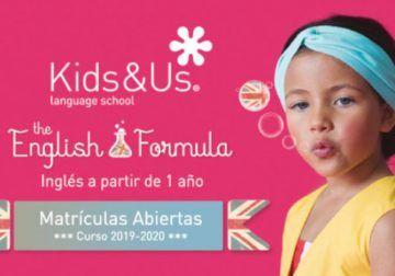 El innovador método de aprendizaje de inglés para niños en Kids&Us Torremolinos