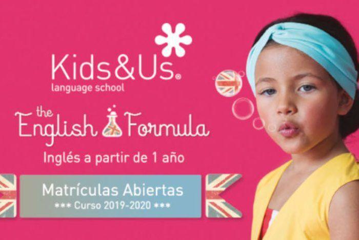 Abierto el plazo de matriculación de inglés para niños en las escuelas Kids&Us Málaga para el curso 2019-2020