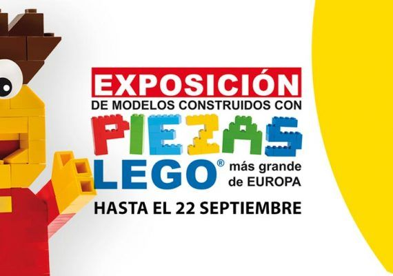 Exposición Lego Muelle Uno Málaga