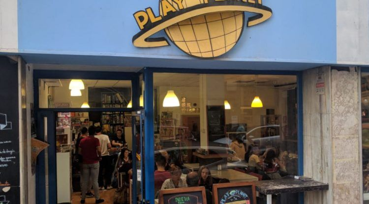 Play Planet Coffee & Shop Málaga