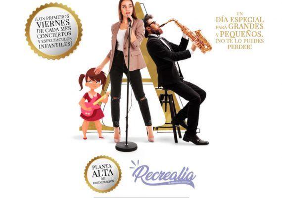 Animación para niños este viernes en Recrealia, el espacio infantil de Vialia Málaga