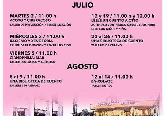 Talleres de verano gratis en la Biblioteca Cánovas del Castillo