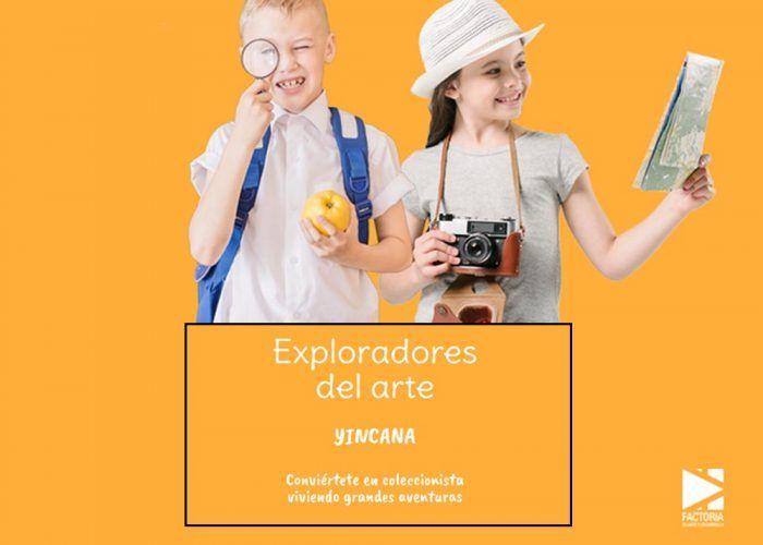 Yincana de arte gratis en Málaga para niños y padres con Art & Breakfast