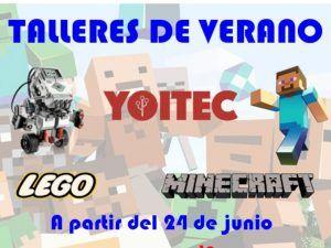 Talleres de verano de Yoitec Málaga con tecnología y robótica para niños