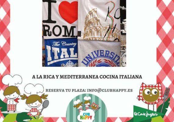 Taller de cocina italiana en Club Happy Málaga