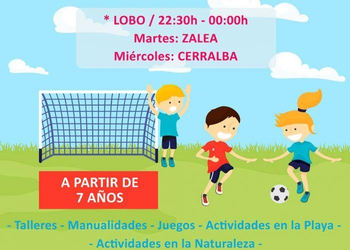 Actividades de dinamización gratis para niños en las barriadas de Pizarra