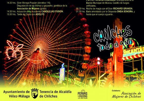 Actividades infantiles gratis en la Feria de Chilches (Vélez-Málaga)