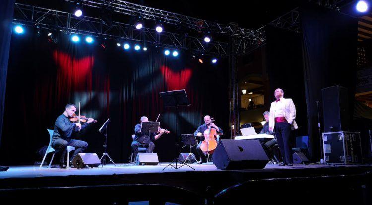 Cuarteto de la Orquesta Sinfónica de Málaga en el Festival de Verano de Plaza Mayor