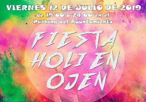 Fiesta Holi gratis para toda la familia en Ojén