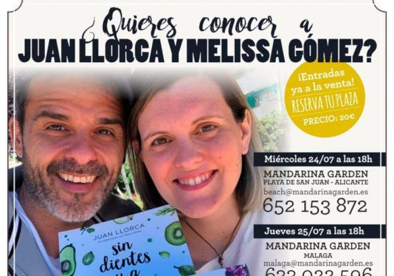 Charla de Juan Llorca sobre alimentación infantil saludable para madres y padres en Málaga