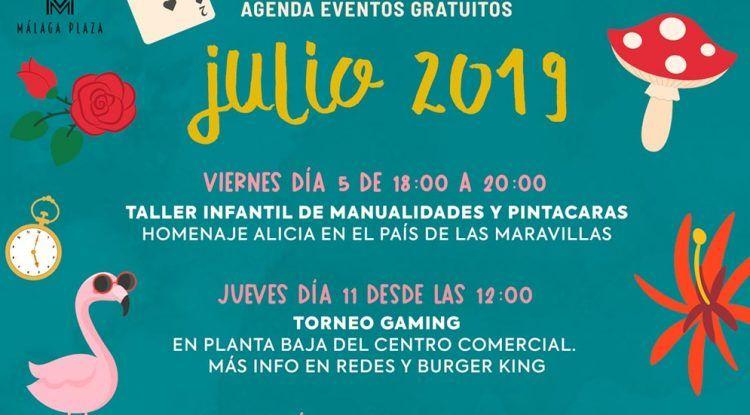 Talleres gratis en Málaga Plaza
