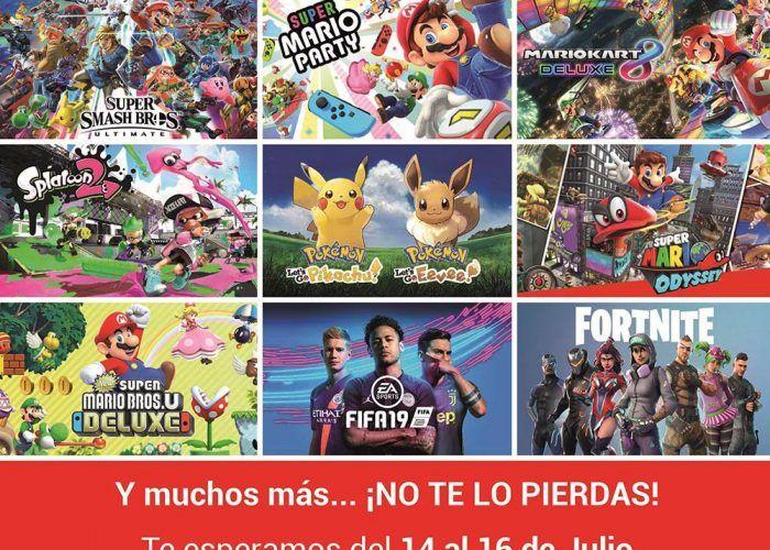 Roadshow Nintendo Switch: prueba gratis videojuegos para niños y adultos en Málaga