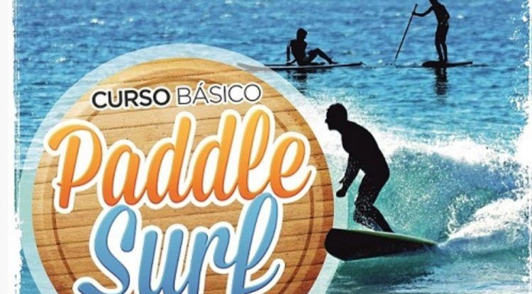 Curso de paddle surf para niños y jóvenes en la playa de Fuengirola