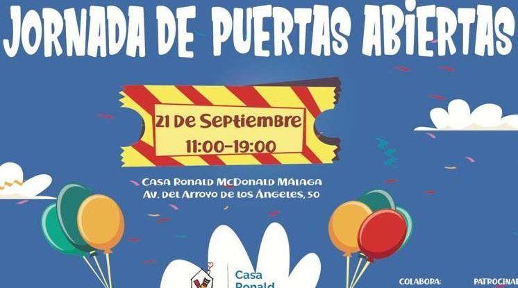 Jornada de puertas abiertas en la Casa Ronald McDonald Málaga