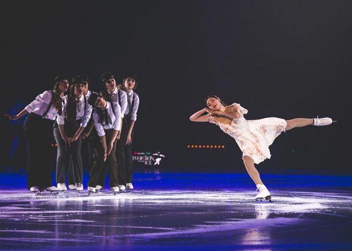 Espectáculo sobre hielo 'Revolution on Ice'.