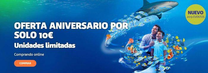 Sea Life oferta aniversario