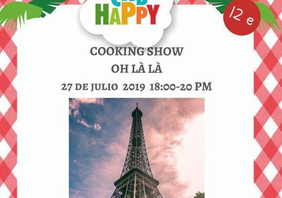Taller de cocina francesa en Club Happy Málaga