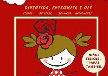 Caseta infantil durante la Feria de Málaga en el Club Happy de El Corte Inglés