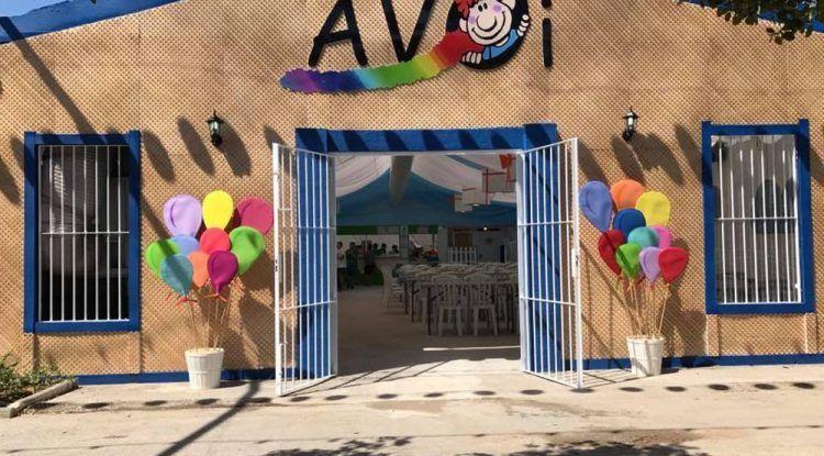Actividades para niños en la caseta de Avoi del Real de la Feria de Málaga