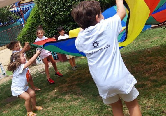 Campamento infantil en septiembre en Sportislive Cerrado de Calderón (Málaga)