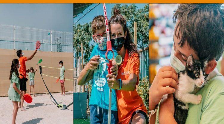 Campamento SportisLive en Verdecora para niños durante septiembre