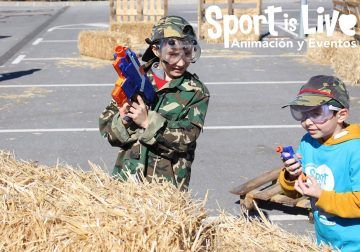 Descuentos en agosto para los cumpleaños infantiles de Sportislive en Verdecora Málaga