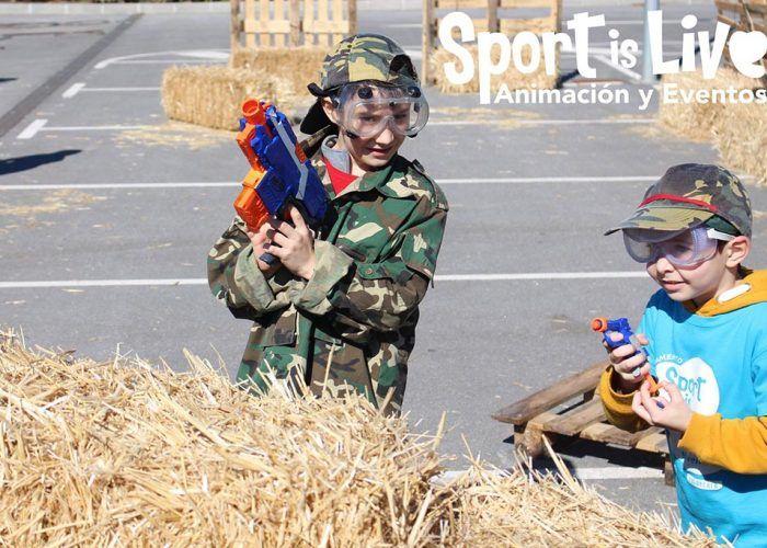 Descuentos en agosto para los cumpleaños infantiles de Spotislive en Verdecora Málaga
