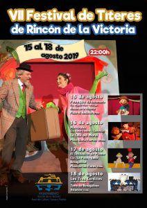 VII Festival de Títeres gratis para niños en Rincón de la Victoria