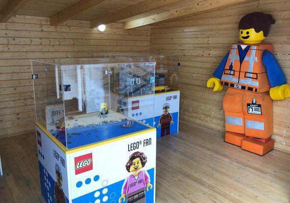 Construcciones Lego e interacción con insectos en Sea Life Benalmádena