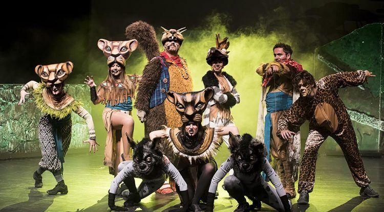 El musical tributo de 'El Rey León' llega en agosto al Jardín Botánico de Málaga
