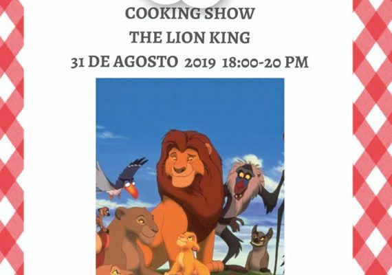 Taller de cocina para niños basado en 'El Rey León' en el Club Happy Málaga