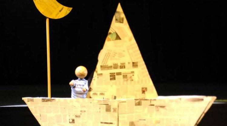 Obra de títeres para bebés en Estepona con Pirueta Teatro