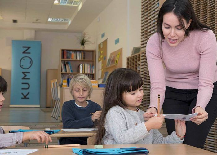 Prueba gratis las extraescolares para niños de Kumon en Málaga y Fuengirola