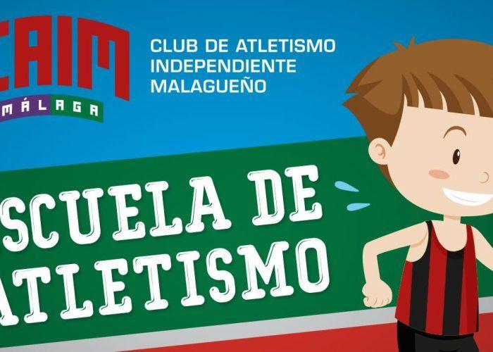 Abierto el plazo de inscripción para la escuela del Club de Atletismo Independiente de Málaga (CAIM Málaga)