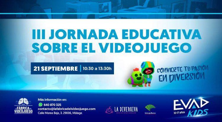III Jornada Educativa sobre el Videojuego en EVAD Málaga