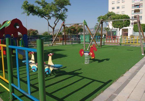 Parques infantiles con terrazas en Málaga