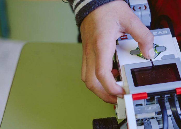 Robótica infatil con Lego en La Térmica (Málaga)