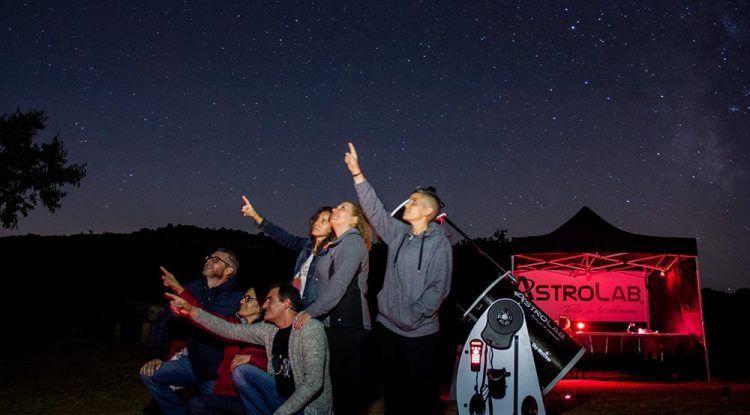 Astronomía en familia con AstroLab (Yunquera) en agosto