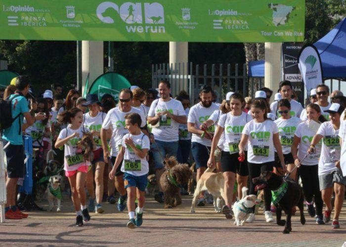 Actividades para niños en la Can We Run Málaga, una carrera para ir con tu perro